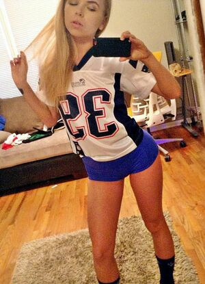 hot blond cheerleaders