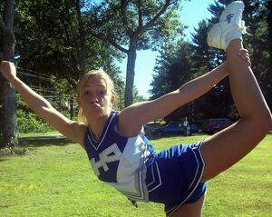 cheerleaders upskirt